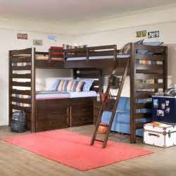 Loft Bed Studio Studio Corner Loft Bed Modern Children S Beds