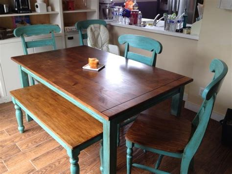 17 Best Images About Kitchen Table On Pinterest Teal Teal Dining Table