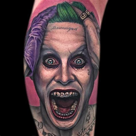 joker tattoo shop portsmouth 12 tormenting jared leto joker tattoos tattoodo