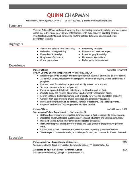 Resume Of Officer by Officer Resume Sle Jose Mulinohouse Co