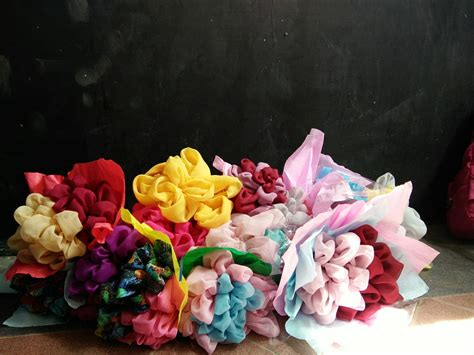 gambar tutorial hijab bouquet tutorial hijab