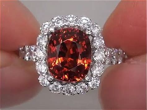 Hq Orange Garnet fanta orange certified vvs unheated spessartite garnet