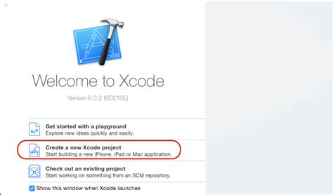 sle xcode projects ios basic of creating xcode project in ios
