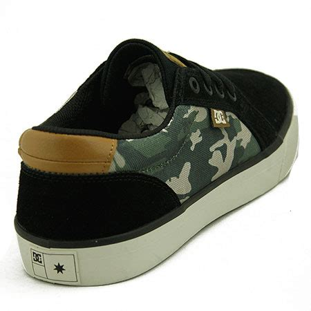 Dc Council S Camo Black by Dc Shoe Co Council S Shoes Camo Black In Stock At Spot