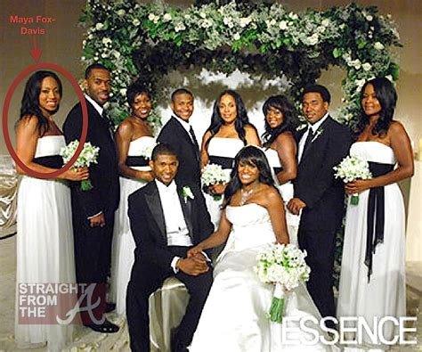Exclusive Details Usher To Wed Fiancee Tameka Foster On Saturday by Usher And Tameka Wedding Www Proteckmachinery