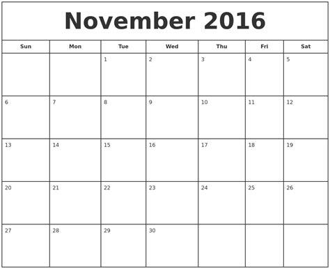 printable calendar november december january november calendars