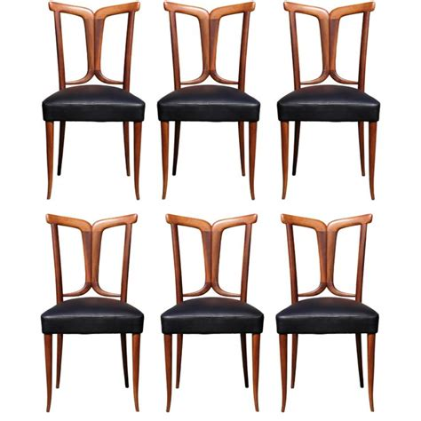 Modern Armchairs Elegant Set Of 6 Italian Dining Chairs Dining Chairs