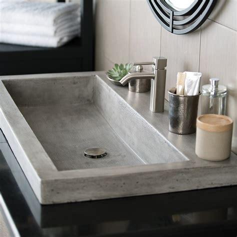 36 inch undermount trough sink trails nsl3619 trough 36 inch handcrafted