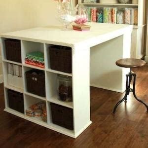 Diy Desk 5559 by Diy Ikea Bookcases And Drawers To Create Desk And Bookcase