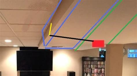 Running Speaker Wire In Ceiling by Wiring Surround Sound Speakers On Ceiling Doityourself