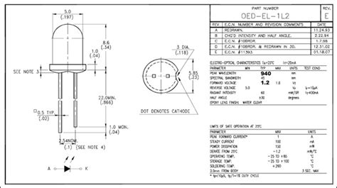 led dioda datasheet lucidscience build the simple infrared illuminator page 3 of 10