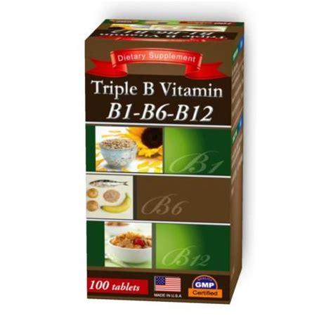 Vitamin B1 B6 B12 Products Noble Health Co Ltd