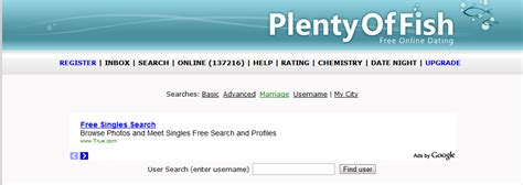 Plenty Of Fish Search By Email Plentyoffish Architecture High Scalability