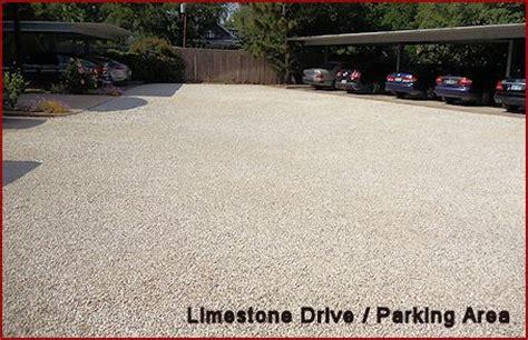 Crushed Driveway Cost Crushed Concrete Rock Limestone Driveways Houston
