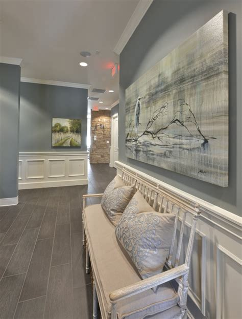 a welcoming dental office home design