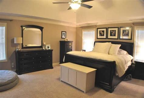 tan bedrooms master bedroom with black and tan color palette espresso