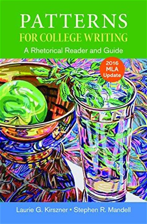 pattern for college writing 13th edition isbn 9781319088064 patterns for college writing with