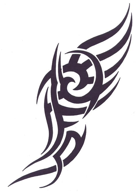 Tattoovorlage Tribal Clipart Best Tribal Flash