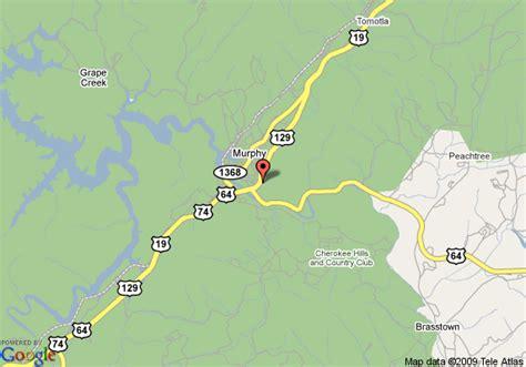 map of carolina murphy map of mountain vista inn murphy murphy