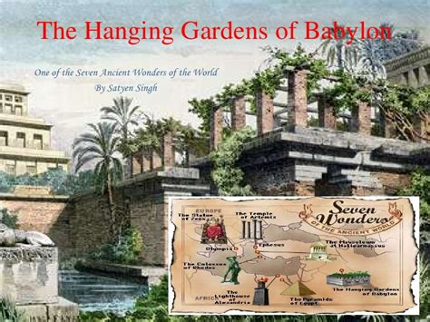 Garden Of The Hanging Gardens Of Babylon