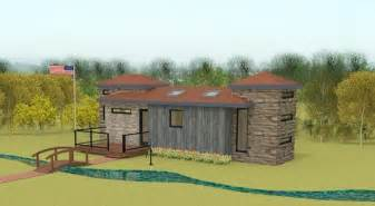 Two Bedroom Tiny House 400 Sq Ft 2 Bedroom Fort Sumter Tiny House