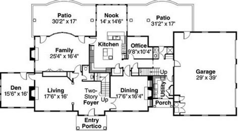 nice house floor plans nice house plan house floor plans