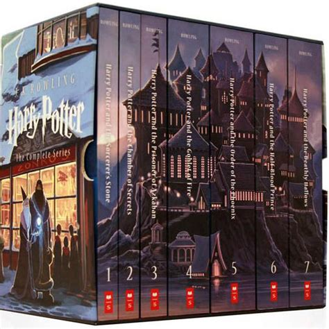 the vire wish the complete series world books harry potter complete book series special edition boxed