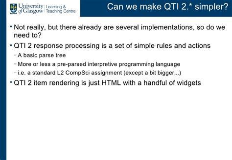 qti format converter cetis talk 27 jan2009