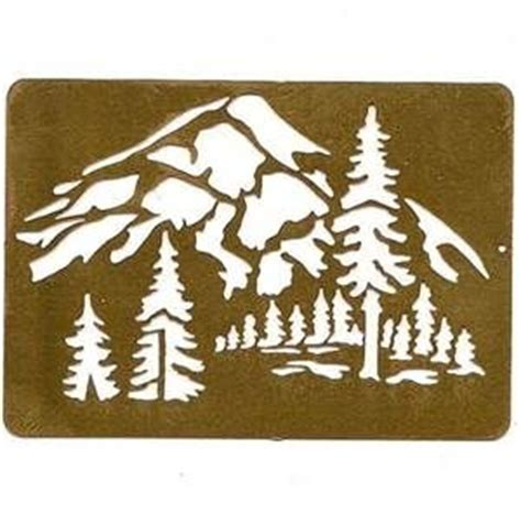 mountain stencils bing images embroidery hoop wall art
