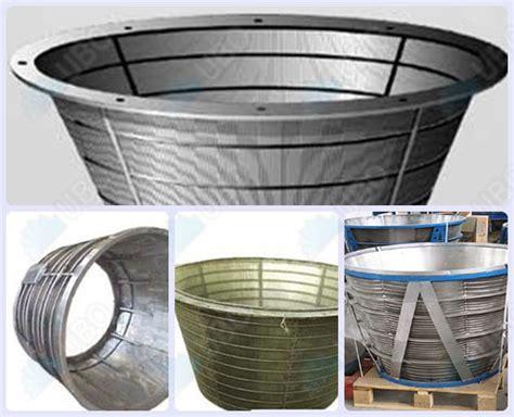 screen baskets wedge wire screen basket wedge wire screen stainless steel screen basket supplier wedge wire