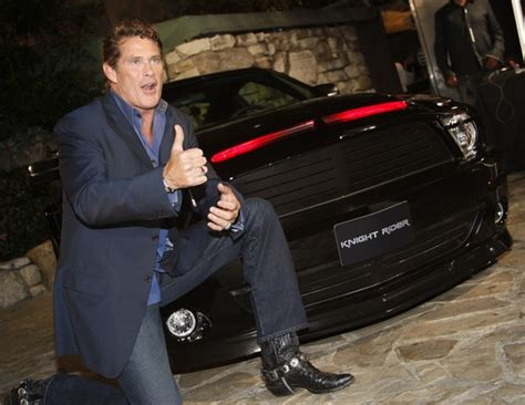 Hasselhoff Admits Rider Car Was 2 by David Hasselhoff Photos Photos Premiere Of Nbc S Quot