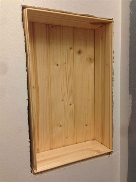 recessed wall shelves best 25 recessed shelves ideas on rustic recessed housings wall storage cabinets