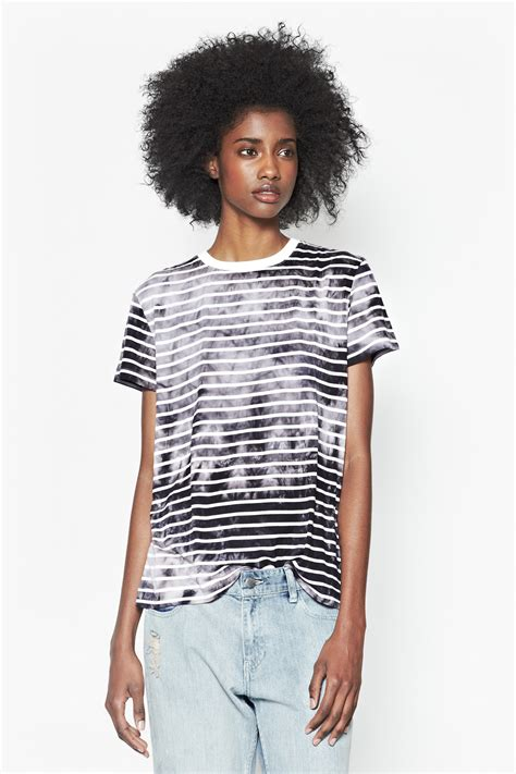 Amelia Blouse By Briseis Collection amelia striped t shirt sale connection