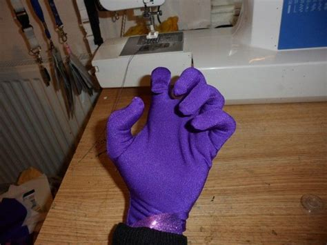 How To Make A Paper Glove - how to make skin tight gloves basic costume bits