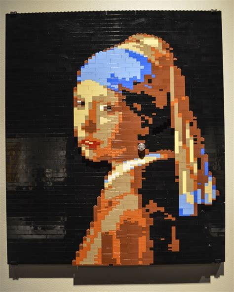 lego painting photos of of the brick nathan sawaya s show of
