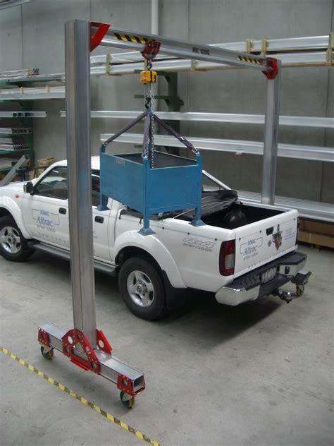 mobile trac mobi trac mobile gantry materials handling