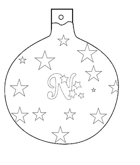 christmas ornaments to color and cut out