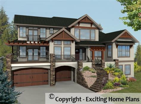 exciting house plans modern house garage dream cottage blueprints by