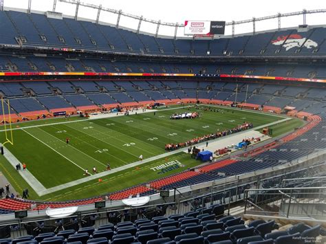sports authority field sections sports authority field section 344 rateyourseats com