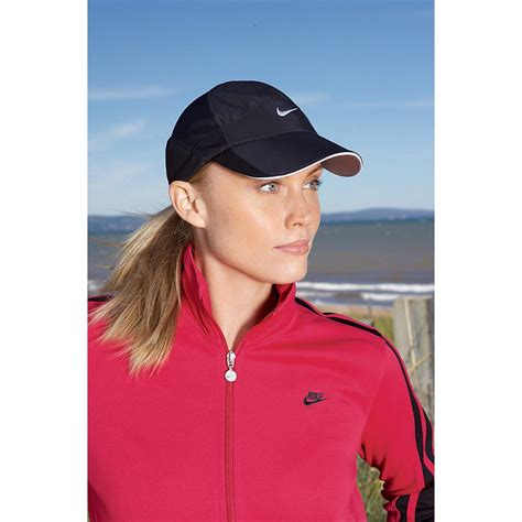 nike women s feather light adjustable hat women s nike 174 feather light cap 143810 at sportsman s guide