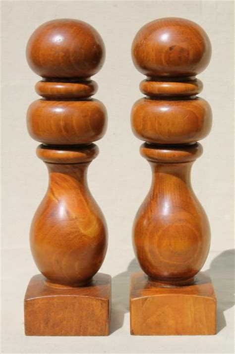 banister knobs banister knobs vintage turned wood finials hat stand