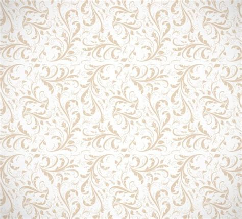 seamless floral pattern background vector graphic free seamless classical brown floral pattern background
