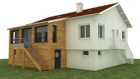 renovation pavillon annee 70 extension r 233 novation ossature bois chevigny 21