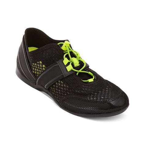 dkny athletic shoes dkny element fashion athletic sneakers in black lyst