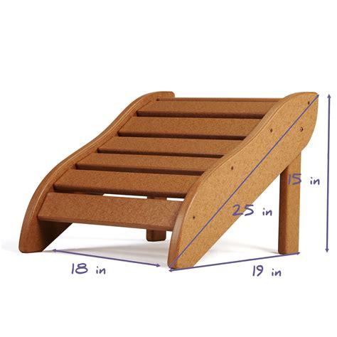 lifetime adirondack chair footrest lifetime essentials adirondack chair footrest on sale