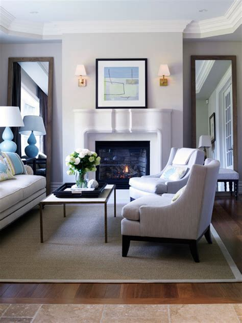 beautiful ideas in decorating a living room with floor mirrors
