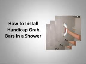 Fiberglass Handrails How To Install Handicap Grab Bars In A Shower