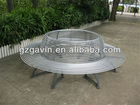 metal circular tree bench 17 best images about white on mosaic