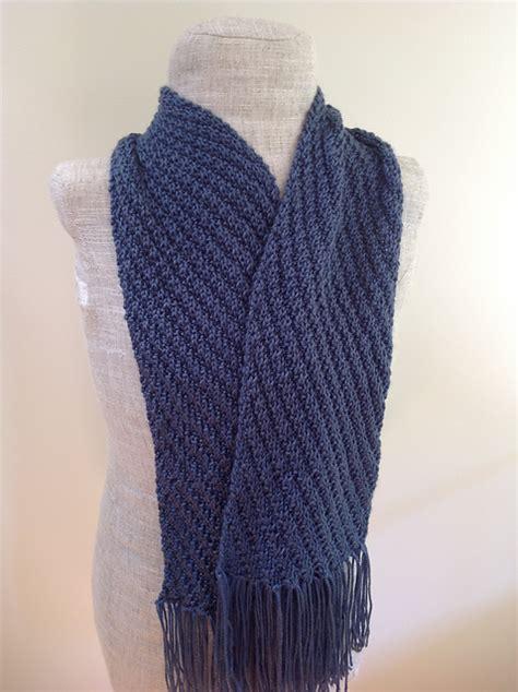 knitting pattern diagonal scarf knitting patterns galore diagonal scarf