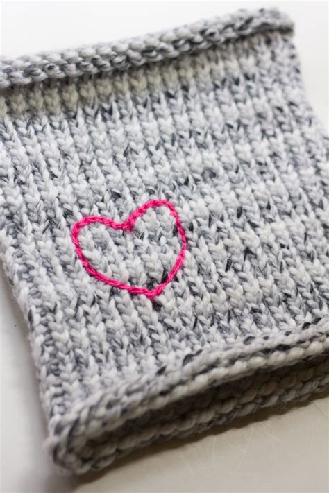 what supplies do i need to start knitting diy neck warmer tutorial crafts unleashed